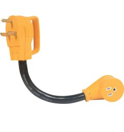 power grip adapter 30a male to 15a female camco 55155 electrical adapters camping world [ 1000 x 1000 Pixel ]