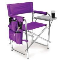 Sports Chair- Purple - Picnic Time 809-00-101 - Folding ...
