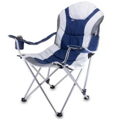 Picnic Time Sports Chair Coleman Portable Deck Reclining Camp Navy 803 00 138 Folding Chairs