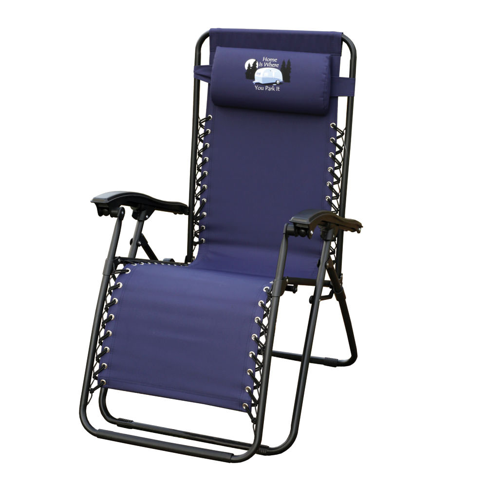 zero gravity pool chairs knoll life chair home is where you park it recliner navy pride family brands inc f5325obkox60h recliners camping world