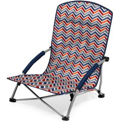 Portable Beach Chair Ergonomic Kneeling Tranquility Vibe Picnic Time 792 00 325 Folding Chairs Camping World