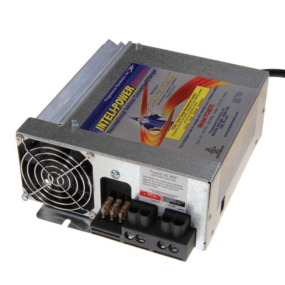 medium resolution of progressive dynamics 70 amp converter with charge