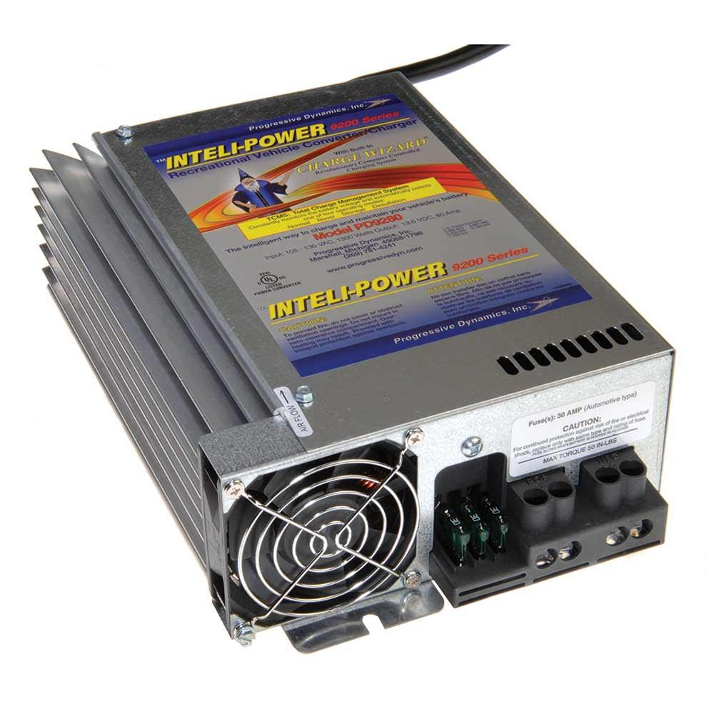 medium resolution of progressive dynamics 80 amp converter with charge wizard