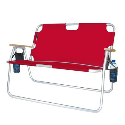 2 person camping chair stair elevator lift tailgater red algoma net company 771724dh folding be the first to review this product