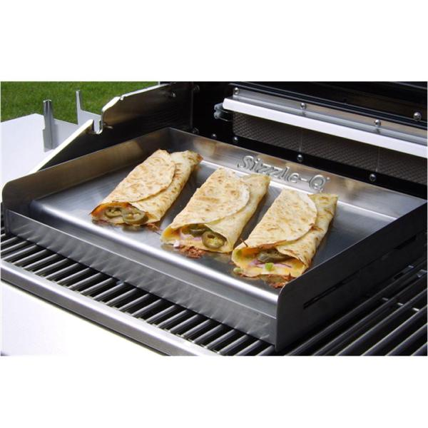 Sizzle- Bbq Camp Griddle - Little Sq180 Grill Accessories Camping World
