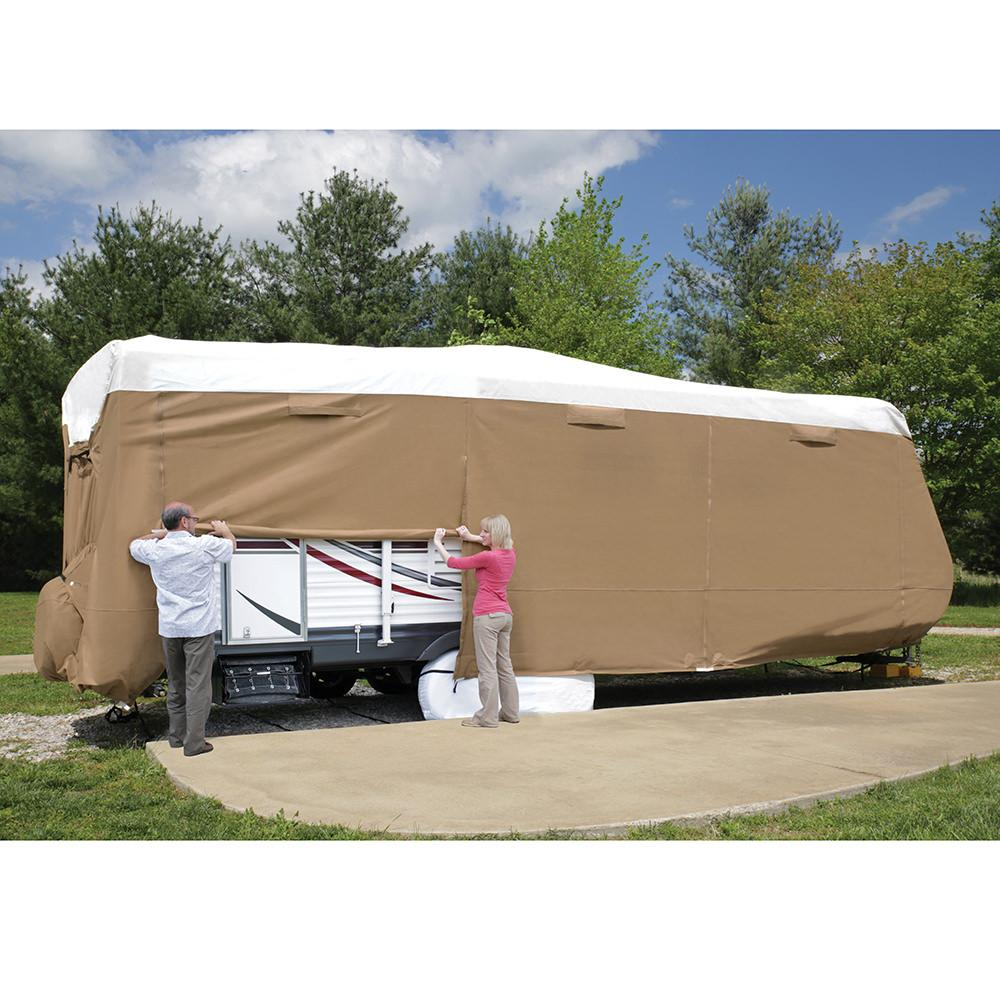 Elements All Climate RV Cover Travel Trailer 15118  Elements Covers 84040  RV Covers
