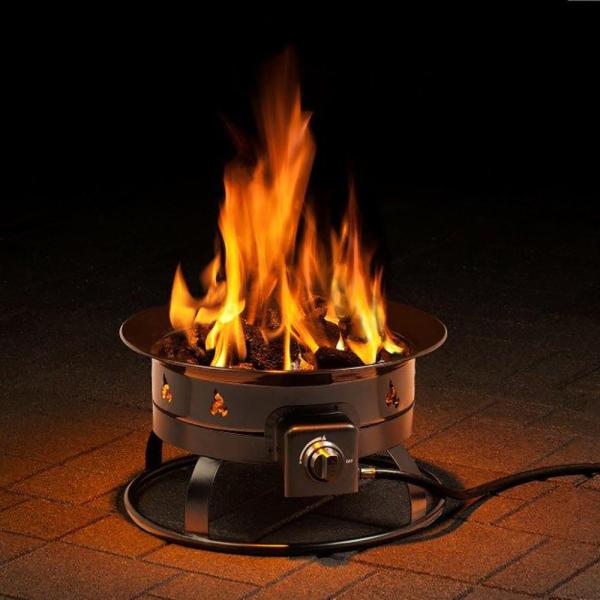 Portable Propane Outdoor Fire Pit - Heininger 5995 Pits Camping World