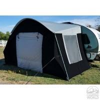 R-Pod Trailer Side Tent, Black/Silver - PahaQue Wilderness ...