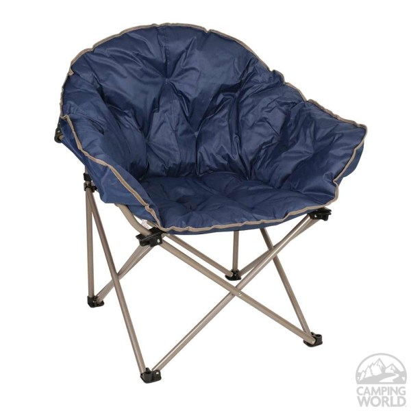 Navy Outdoor Folding Club Chair