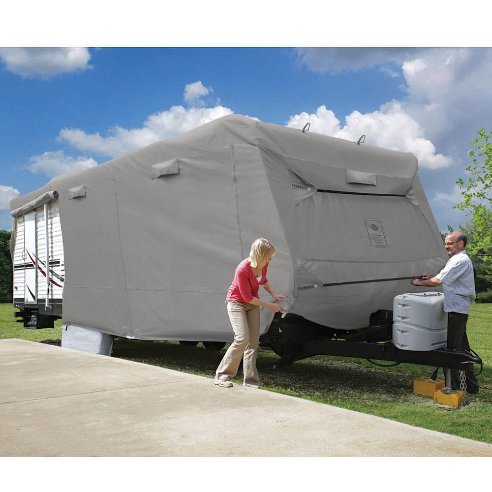 Elements Travel Trailer Premium All Climate RV Cover 34137  Elements Covers 84915  RV