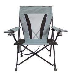 Kijaro Dual Lock Folding Chair Xxl Office Chairs No Wheels Gray - 54026 Camping World