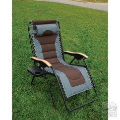 Zero Gravity Patio Chair Xl Beach Chairs With Umbrellas Attached Deluxe Recliner Cocam Int L Enterprises Ltd Agf006