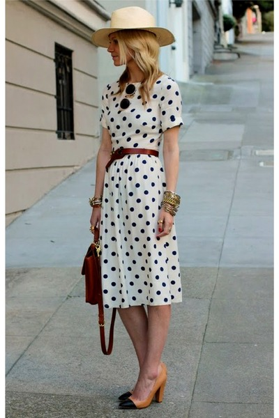 Ivory-polka-dot-dress