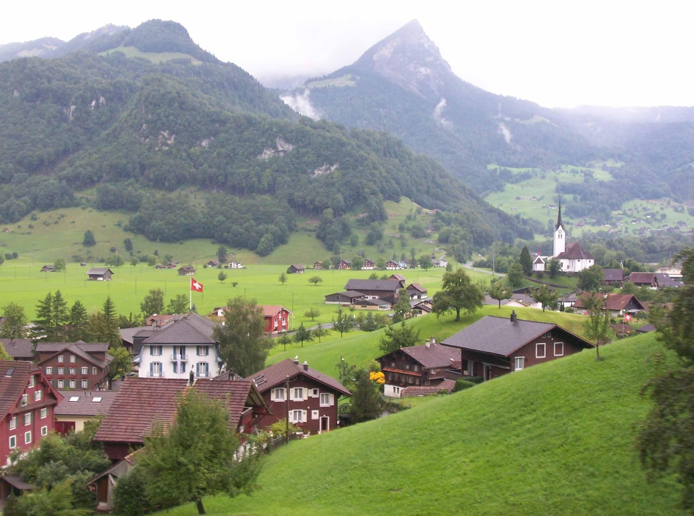 持瑞士通票四日火車自助游(二)_瑞士旅游攻略_欣欣旅游網