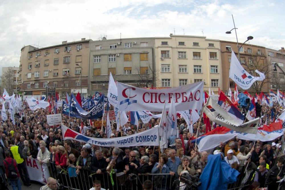 Miting Stop razbijanju Srbije