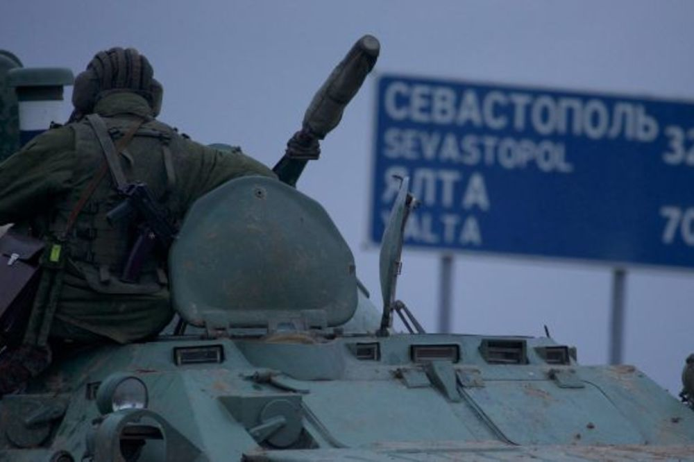 Ruski transporteri nadomak Krima