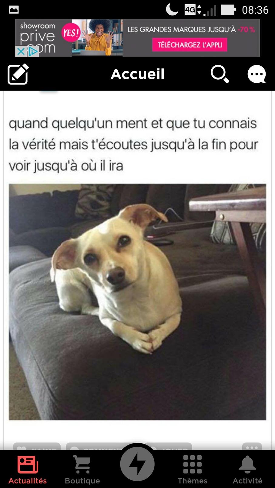 Tu Es Sûr De Toi : Baptiste42, Memedroid