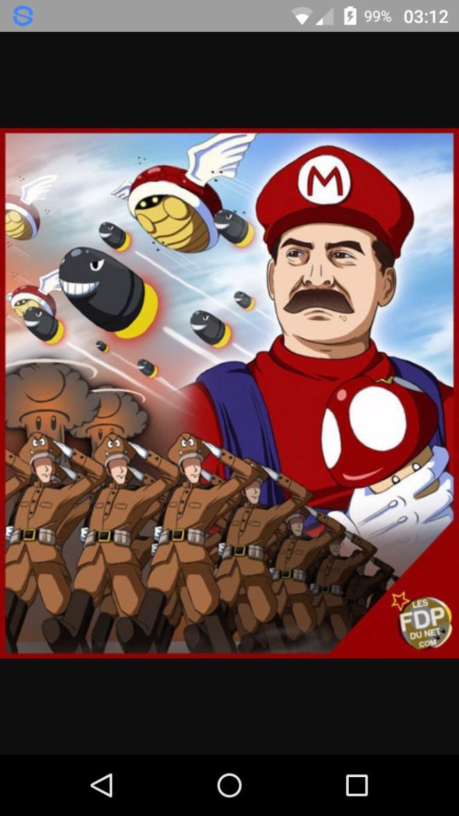 Mario staline - meme