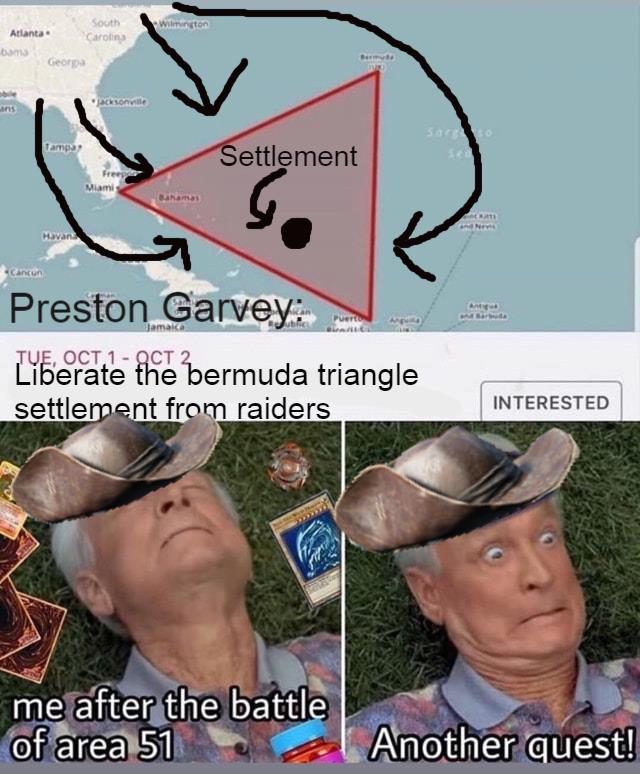 Preston Fallout 4 Meme : preston, fallout, Preston, Garvey, Memes, Memedroid