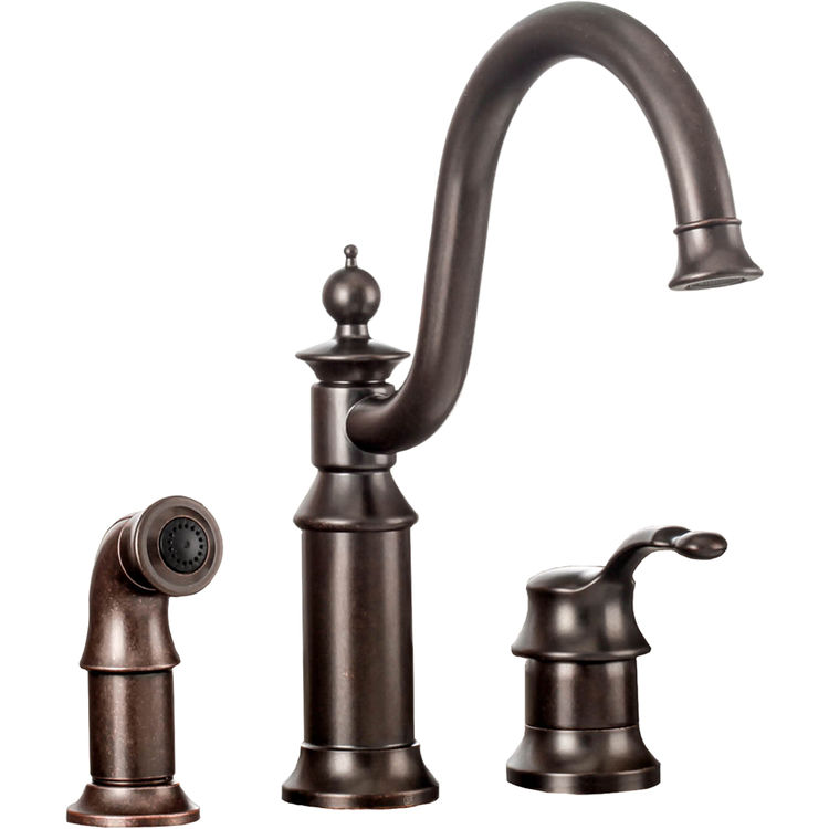 moen s711orb waterhill one handle high arc kitchen faucet oil rubbed bronze