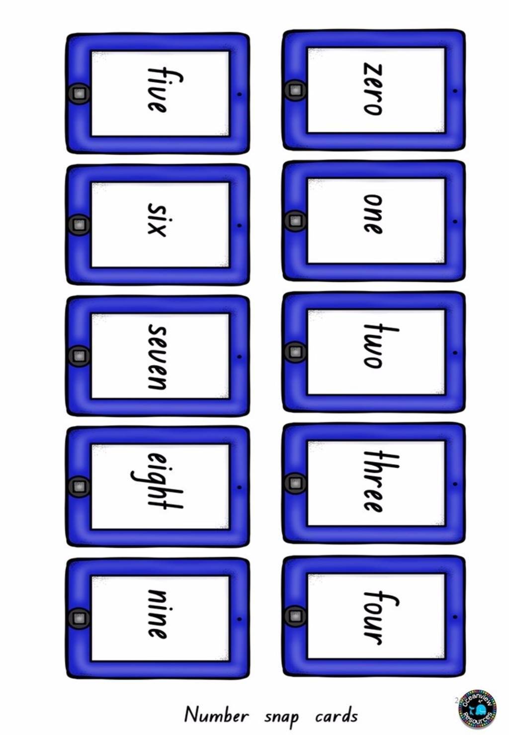 Printable Resources For Numeracy