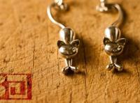 Kittens - earrings (88MQEK2VP) by vaclavmazany