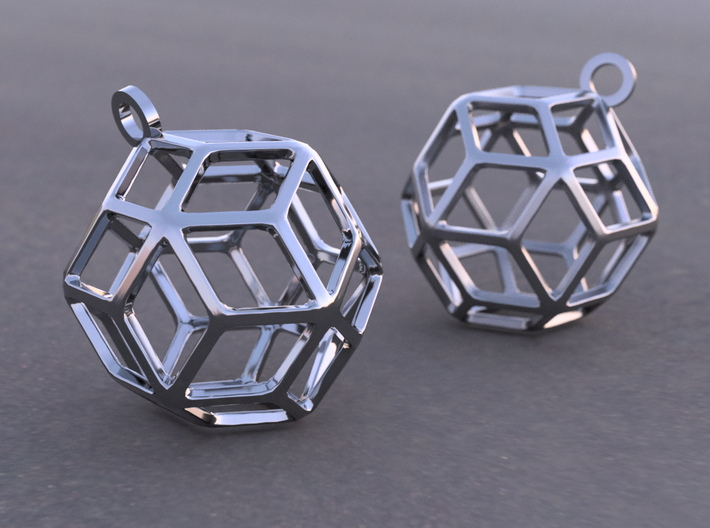 Rhombic Triacontahedron 3d Model