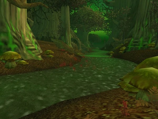 WoWWiki | Screenshot of Felwood