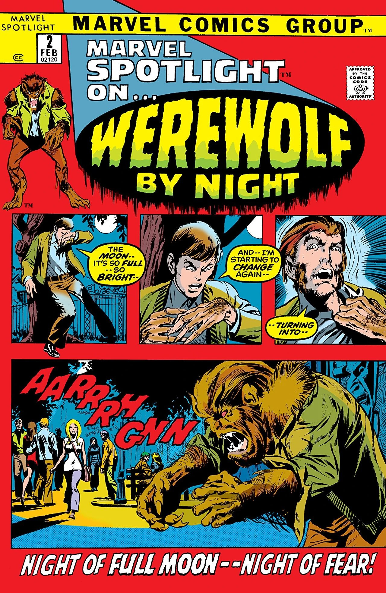 Marvel Spotlight on... Werewolf by Night