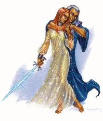 eladrin elf female elven queen stars gay celestial lgbt noble dungeons dragons wizards realms forgotten wikia inclusivity role playing games