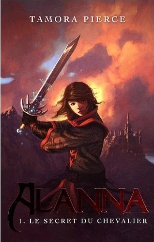"""Why are French covers always so much more awesome? And """"The Secret of the Knight?"""" That sounds way cooler."""