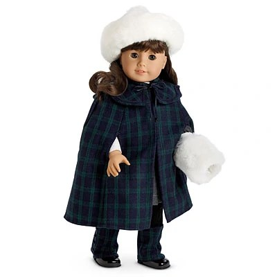 New American Girl Club Navy Jacket and hat for doll size Discontinued !!
