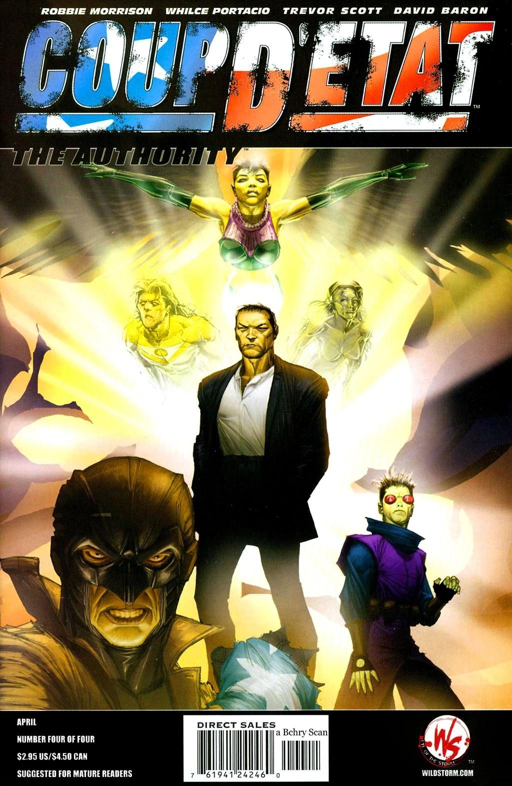 Coup d'État: The Authority Vol 1 1 - DC Comics Database