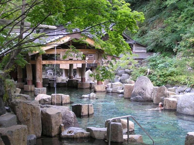 Baños Termales Japon:Baños termales u onsen
