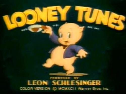 Image Looney Tunes Logo Patient Porkypng Looney