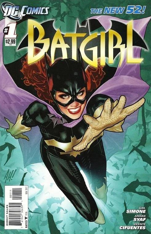 Batgirl Comic Book Series Wiki Comics Books