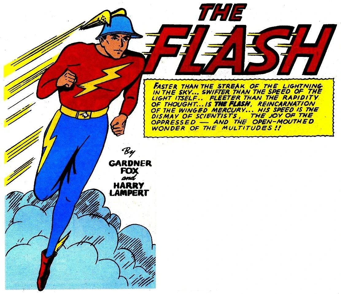 Resultado de imagen de the flash comic antiguo