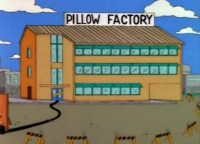 Pillow Factory - Simpsons Wiki
