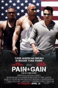 Poster for 2013 crime comedy Pain & Gain