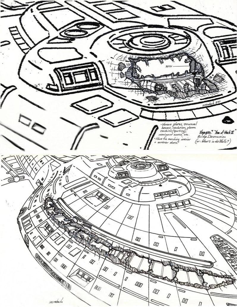 intrepid class deck plans uss intrepid star trek voyager