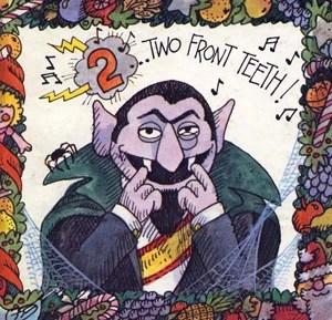 2 front teeth