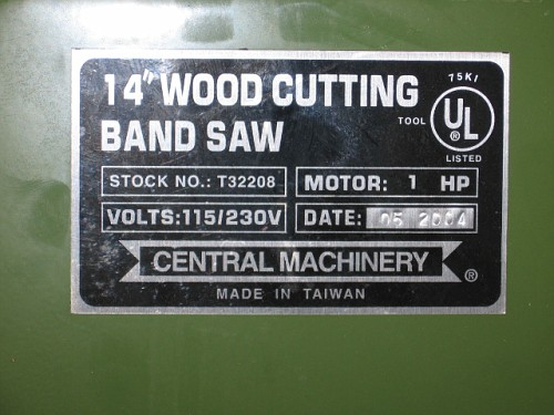 Wood to Metal Bandsaw conversion  Miller Welding