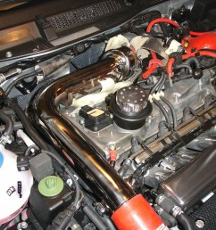 then remove the charge pipe so you have easy access to the timing belt cover and engine mount below it bentley manual page 15a 12  [ 1400 x 1050 Pixel ]