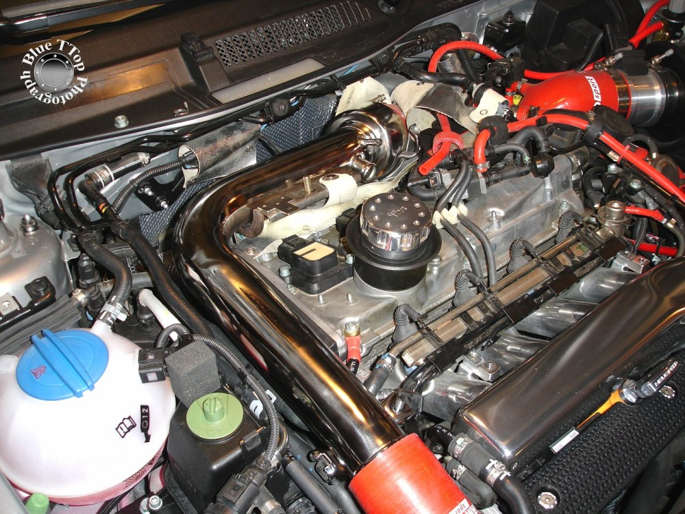medium resolution of then remove the charge pipe so you have easy access to the timing belt cover and engine mount below it bentley manual page 15a 12