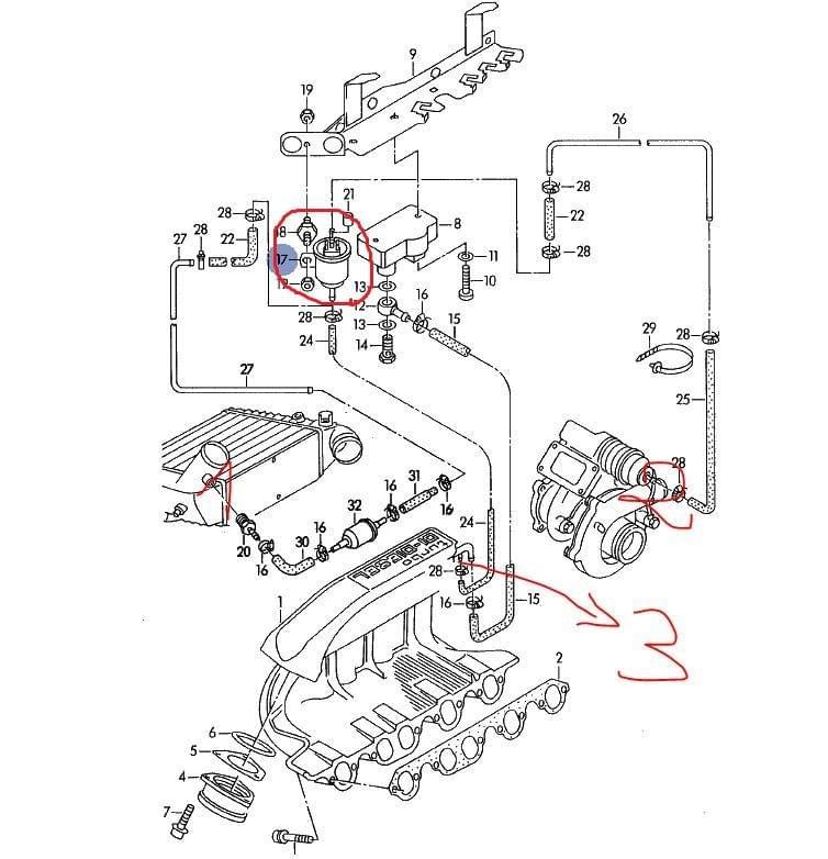 Audi A6 / A7 Klub Polska [ AEL 2.5 140 KM] Zawor N75