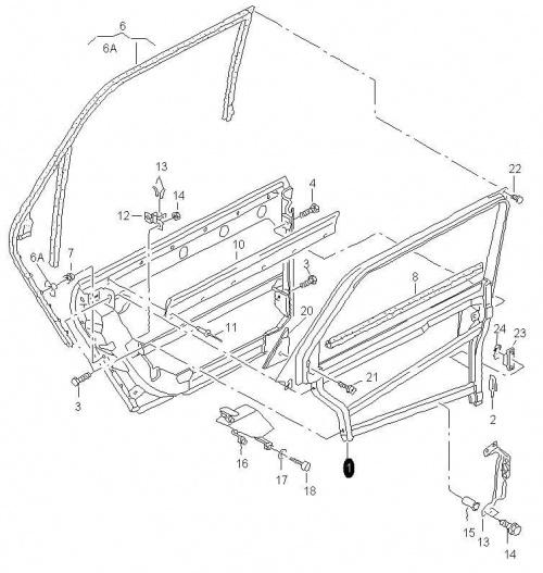 Audi A6 / A7 Klub Polska wymiana bocznej szyby przedziau
