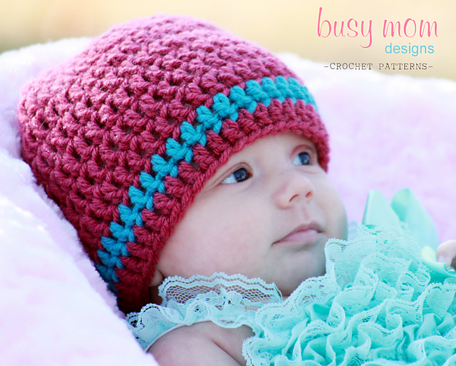 Crochet Baby Hats for Newborns Free Patterns: roundup post featuring various Crochet Baby Hats for Newborns Free Patterns.