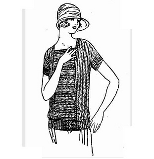 Ravelry: Striped Crochet Jumper pattern by The Catholic Press