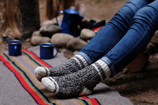 Hyak Knit sock patterns