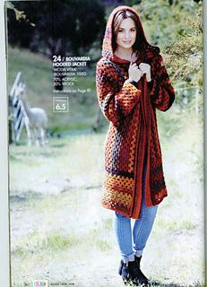 Ravelry Bouvardia Hooded Jacket pattern by Spotlight